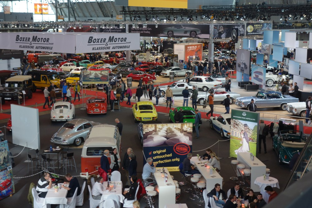 Blick in Halle 1