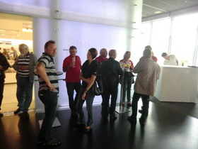 Empfang im BMW-Museum